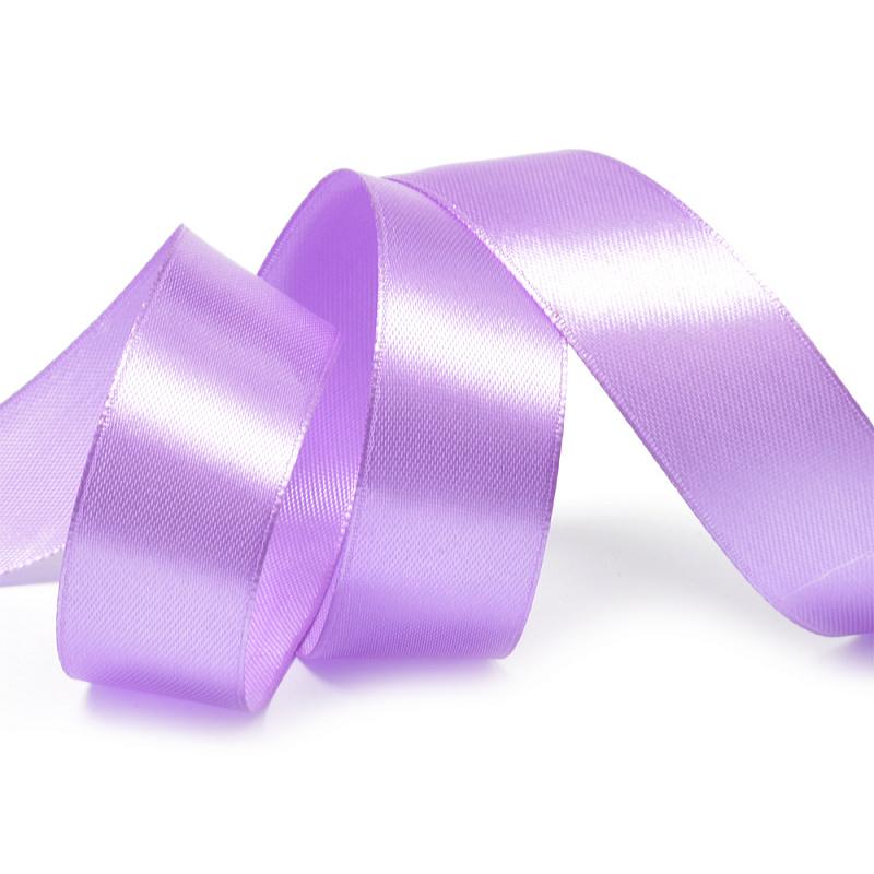 Атласная лента 5 см (1 метр), фиолетовый