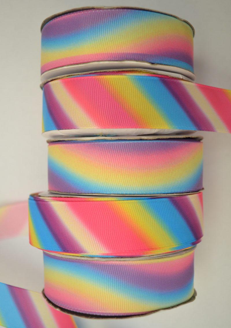 Репсовые ленты «Градиент» 2,5 см