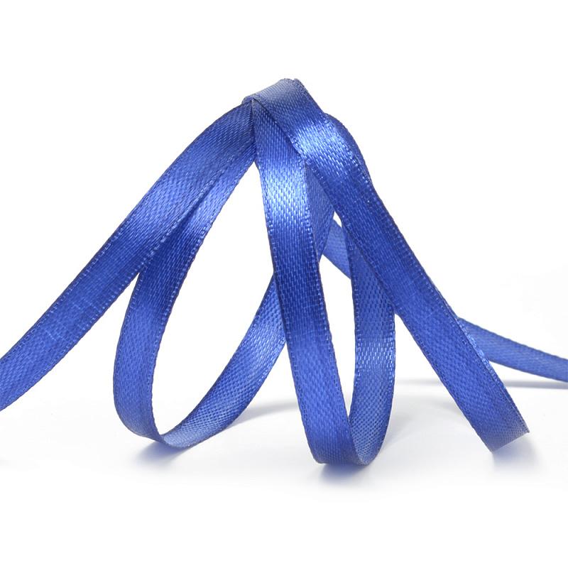 Атласная лента 1,2 см (бабина) синий