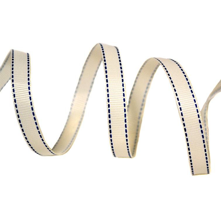 Репсовая лента «Мелкая строчка» 1 см