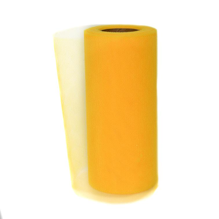 Фатин 15 см, оранжевый (1 метр)