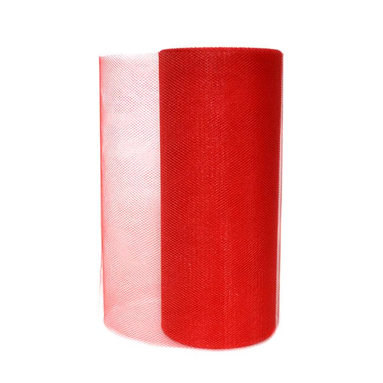 Фатин 15 см, красный (1 метр)