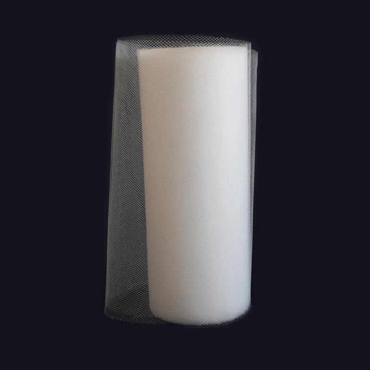 Фатин 15 см, белый (1 метр)