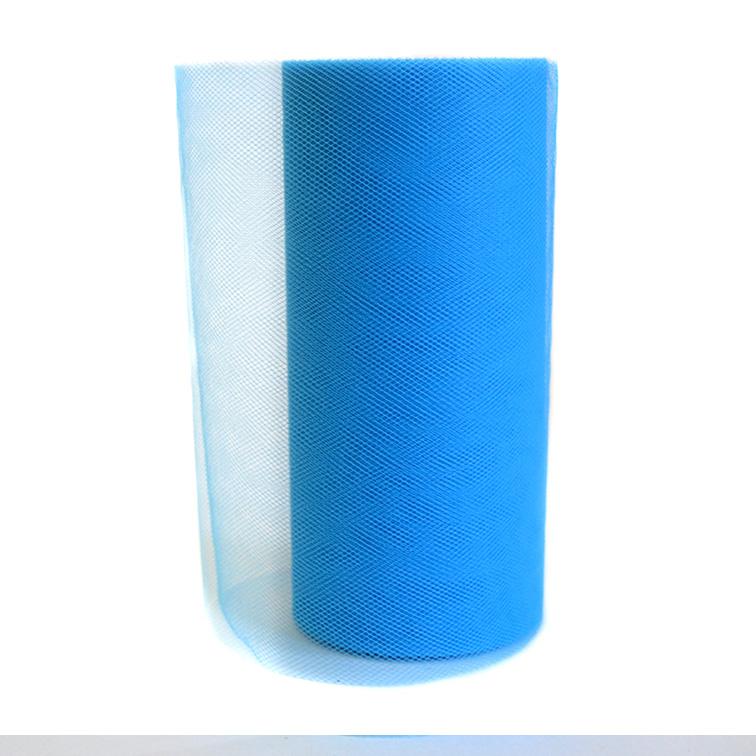 Фатин 15 см, голубой (1 метр)