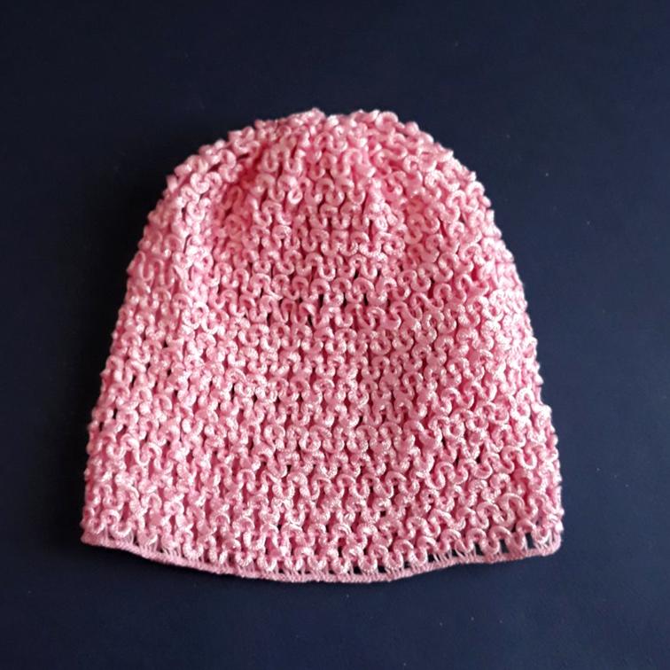 Шапочка-основа 16*14 см (1 шт), розовый