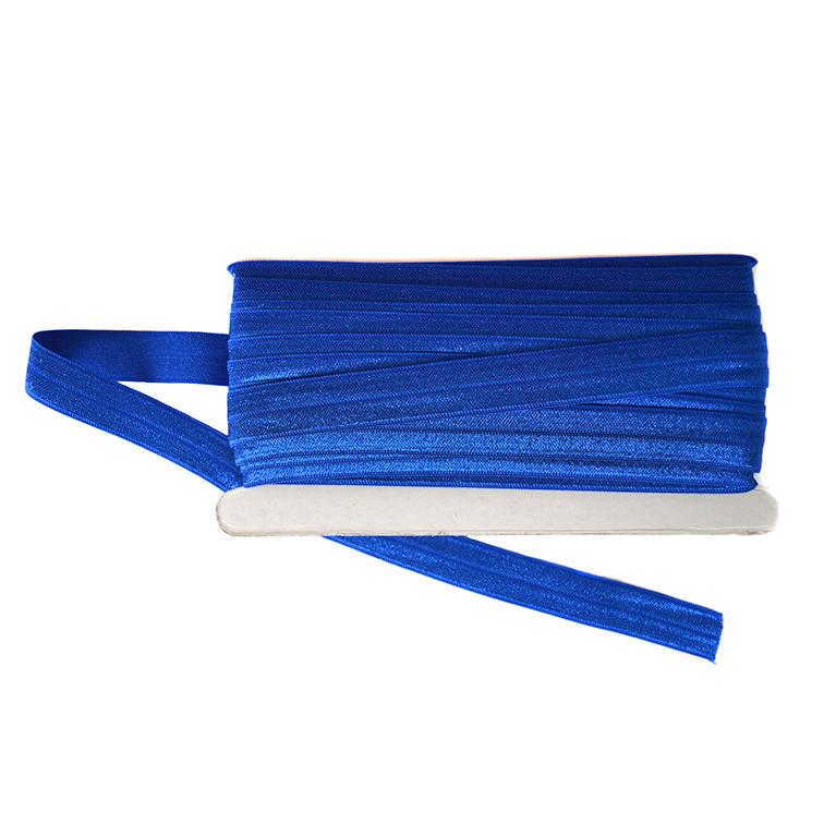 Тесьма эластичная 1,5 см (1 метр), синий
