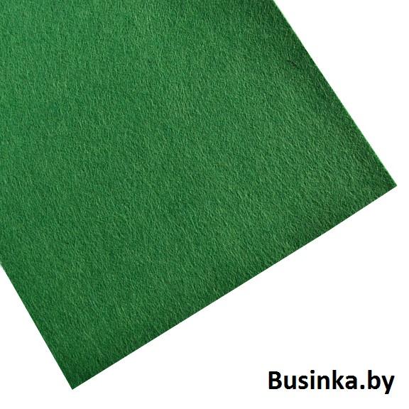 Фетр жёсткий 1 мм, зелёный №1