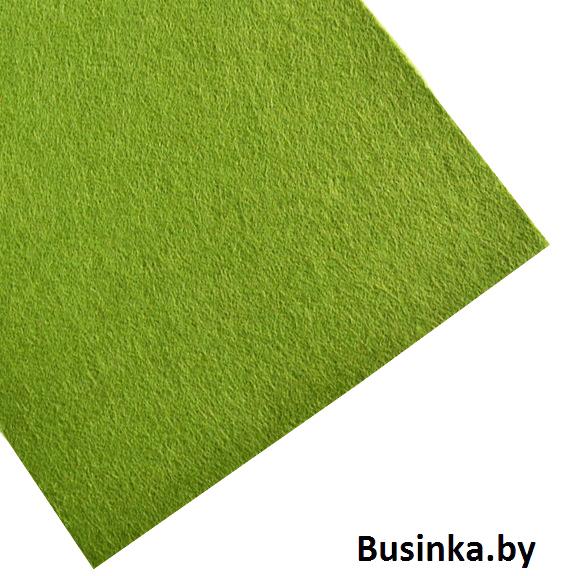 Фетр жёсткий 1 мм, зелёный №2
