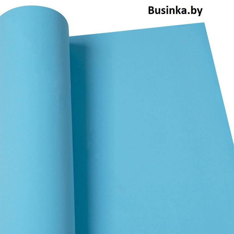 Фоамиран 1 мм 29*34 см голубой (1 шт), Иранский