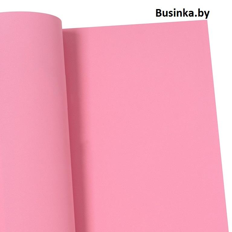 Фоамиран зефирный «1 сорт» 1 мм, 60*70 см розовый (1 шт), Иранский (1)