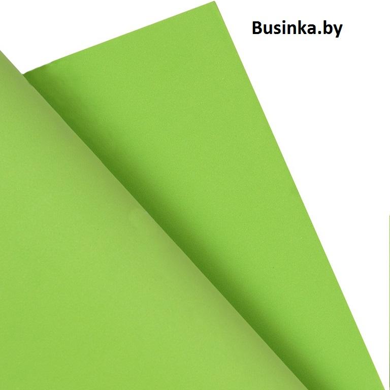 Фоамиран Eva 1 мм 50*50 зелёный (1 шт)