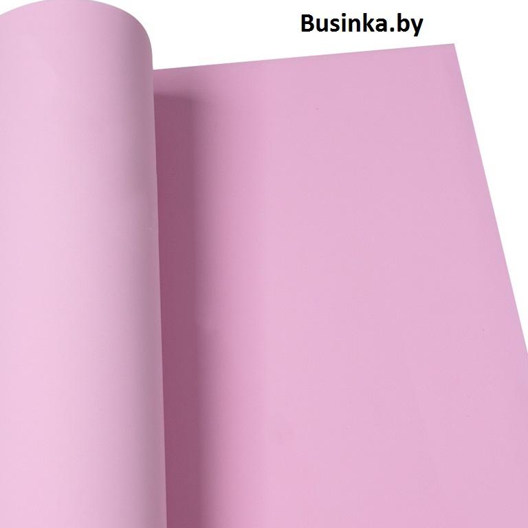 Фоамиран 1 мм 60*70 см тёмно-розовый (1 шт), Иранский