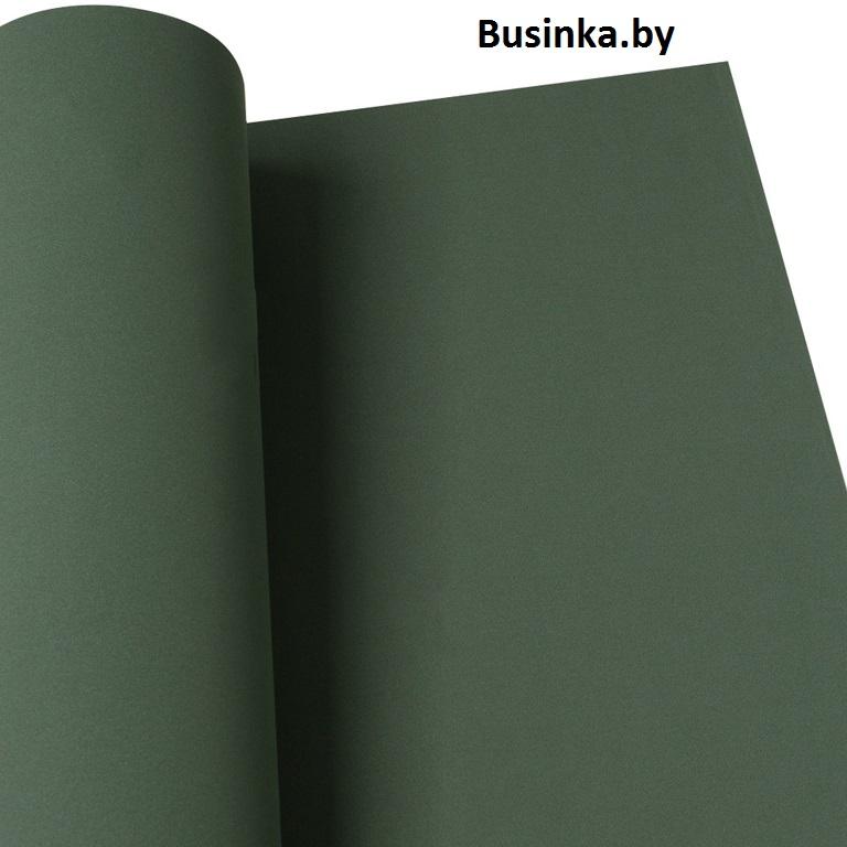 Фоамиран 1 мм 29*34 см тёмно-тёмно-зелёный (1 шт), Иранский