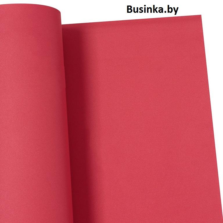 Фоамиран зефирный «1 сорт» 1 мм, 60*70 см тёмно-красный (1 шт), Иранский