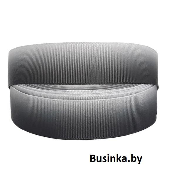 Репсовая лента «Градиент» 2,5 см (1м)