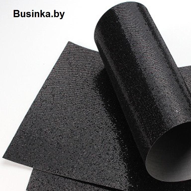Кожзам соты 20*30 см, чёрный (1 шт)
