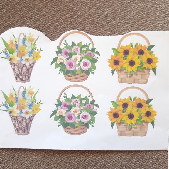 Термонаклейки «Цветы» (набор)