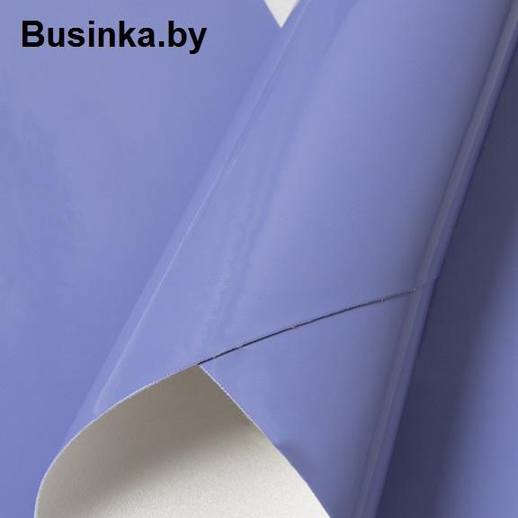 Кожзам гладкий 20*30 см, фиолетовый (1 шт)