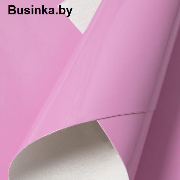 Кожзам гладкий 20*30 см, розовый (1 шт)