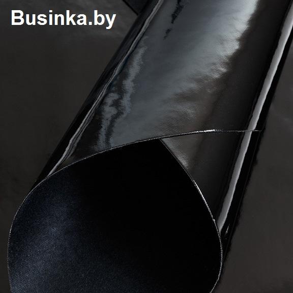 Кожзам гладкий 20*30 см, чёрный (1 шт)