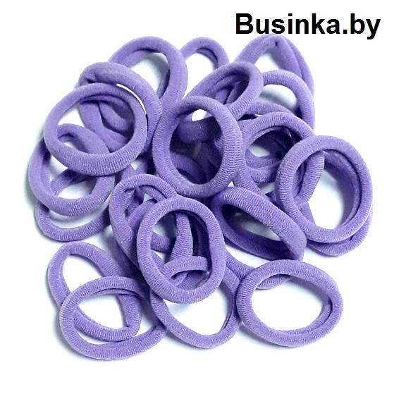 Бесшовные резинки для волос 3 см, фиолетовый (1 шт)