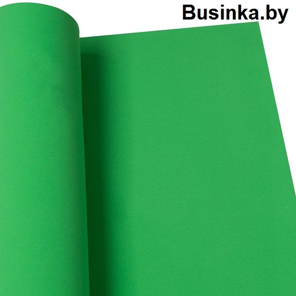Фоамиран 1 мм 60*70 см лаймово-зелёный (1 шт), Иранский