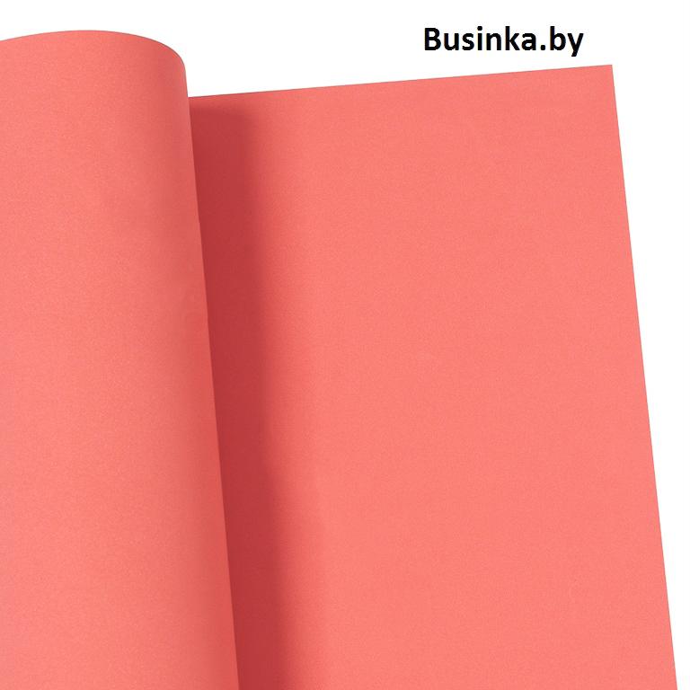 Фоамиран Eva 1 мм 50*50 см светло-красный (розовый) (1 шт)