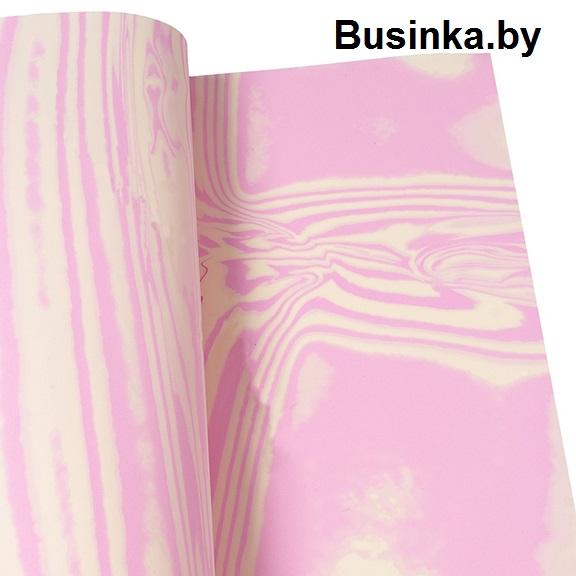 Фоамиран 1 мм 29*34 см антично-бело/розовый (1 шт), Иранский