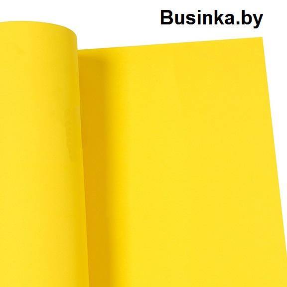 Фоамиран 1 мм 29*34 см жёлтый (1 шт), Иранский