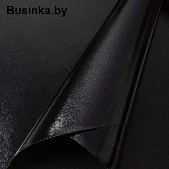 Кожзам 22*30 см, чёрный (1 шт)