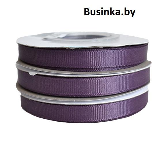 Лента репсовая 1 см, вишнёвая пенка (бобина)
