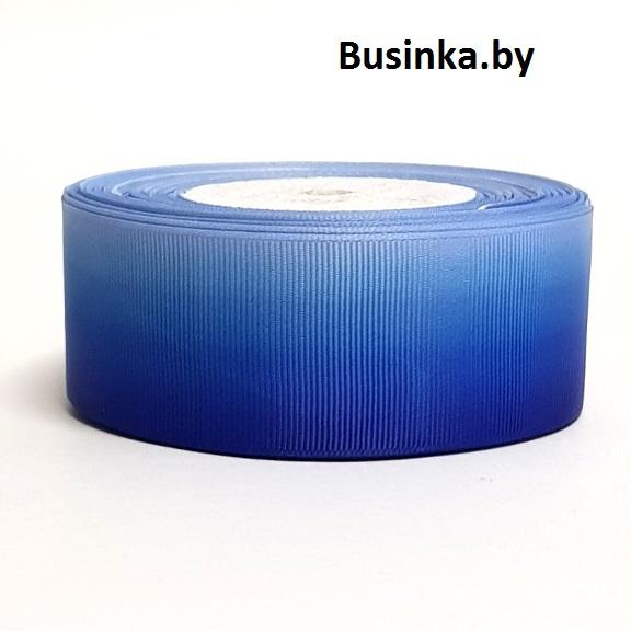 Репсовая лента градиент 4 см (1 м)
