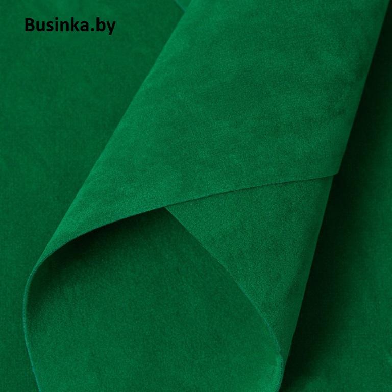 Замша искусственная двусторонняя, А4 (21*29 см) 1 шт, зелёный