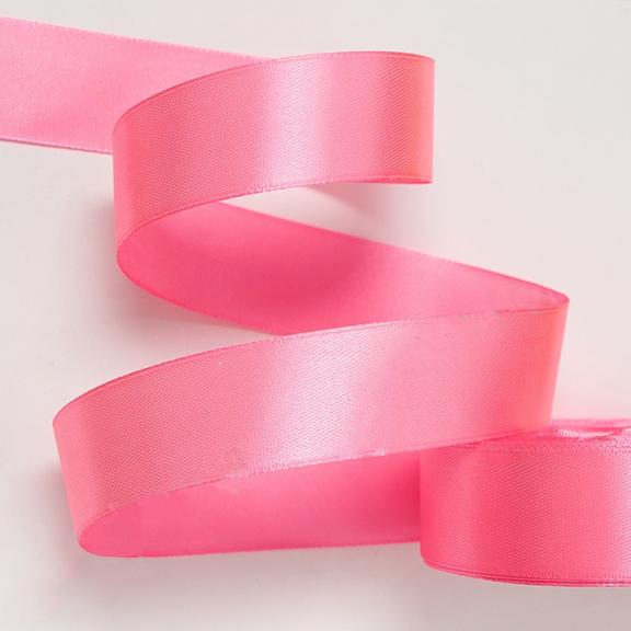 Атласная лента 5 см (1 метр), розовый №2