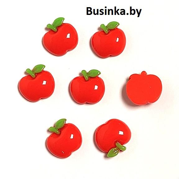 Кабошон «Яблочко», 18 мм (1 шт)