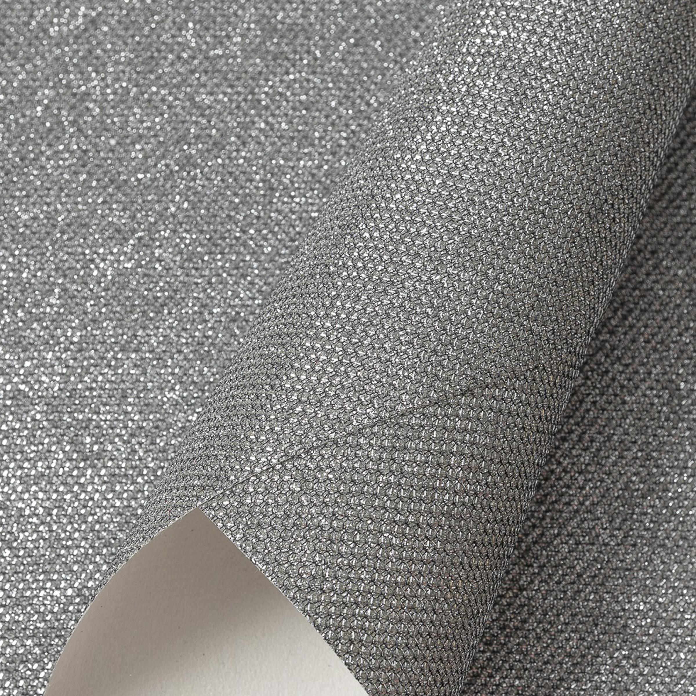 Кожзам с блёстками текстурный 21*29 см, серебро