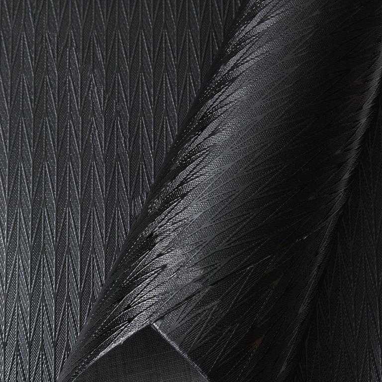 Кожзам текстурный «Узор» 21*29 см, чёрный