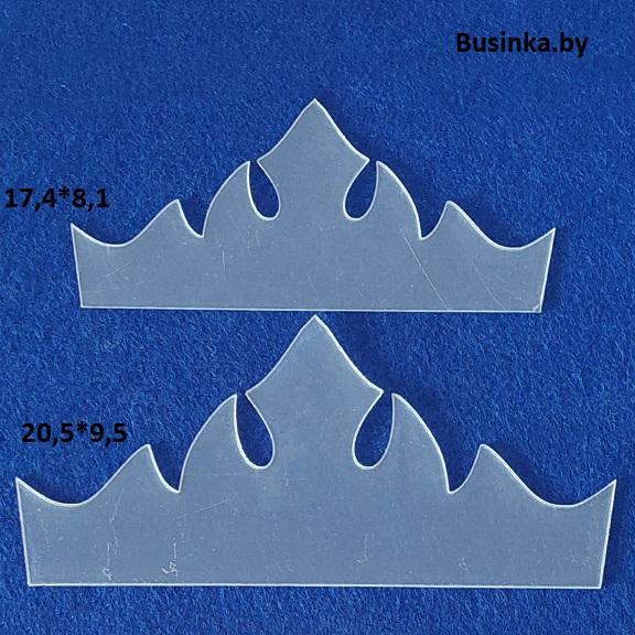 Набор шаблонов для бантиков «Корона Эльзы»