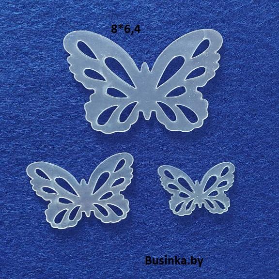 Набор шаблонов для бантиков «Бабочки»