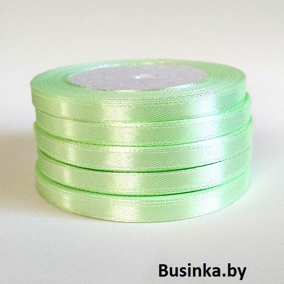 Атласная лента 0,6 см (бабина) салатовый