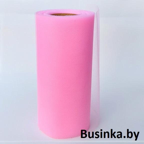 Фатин 15 см, светло-розовый (1 метр)