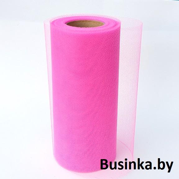 Фатин 15 см, розовый 2 (1 метр)