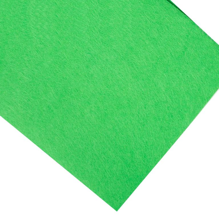Фетр жёсткий 2 мм, зелёный 17