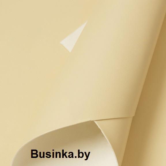 Кожзам однотонный 20*28 см, персиковый (1 шт), тонкий