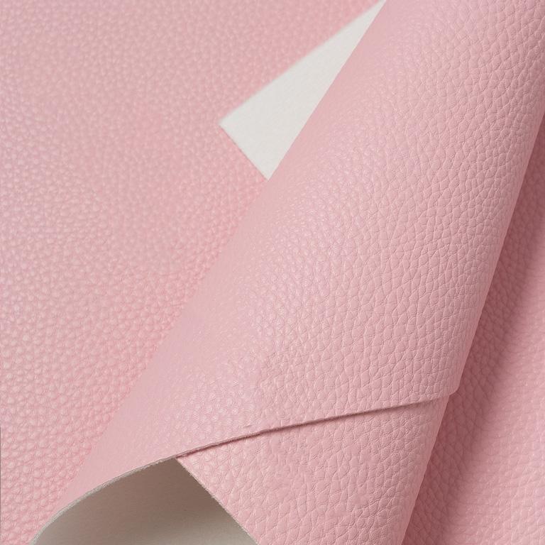 Кожзам зернистый 20*30 см, светло-розовый (1 шт)