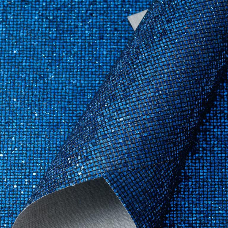 Кожзам «Квадратики» 21*29 см, синий