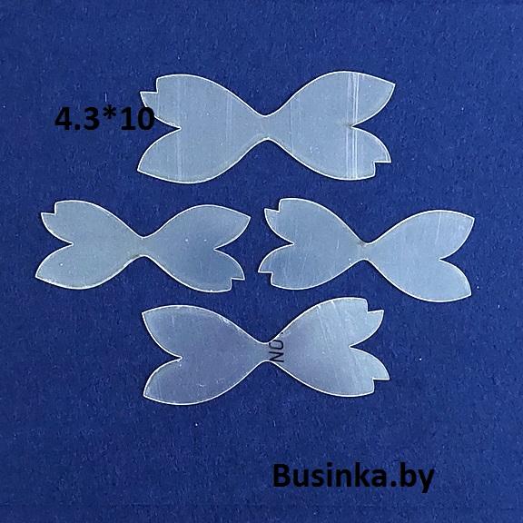 Набор шаблонов для бантиков «Хвостики ажур»