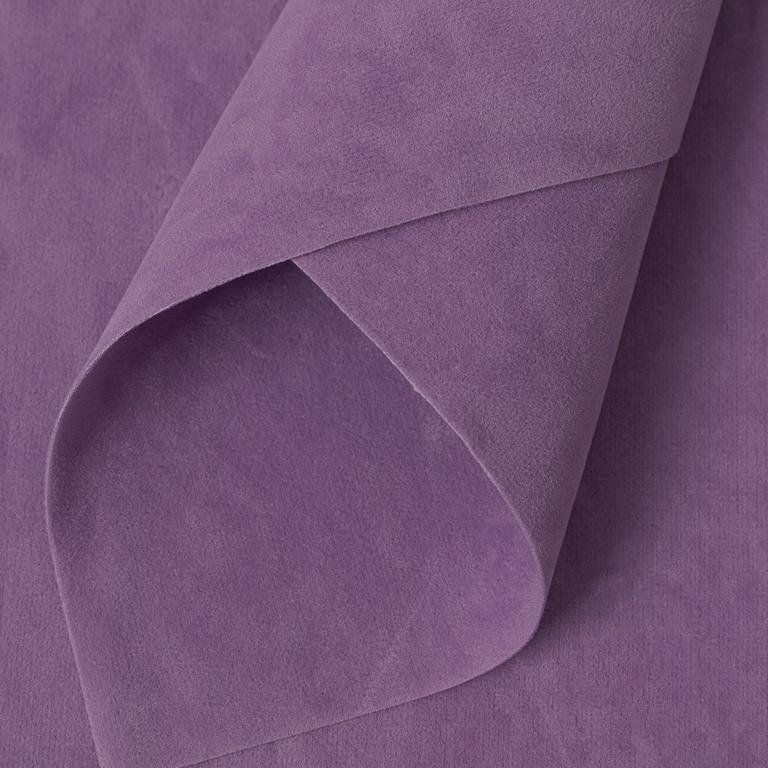 Замша искусственная двусторонняя, А4 (21*29 см) 1 шт, фиолетовый 29